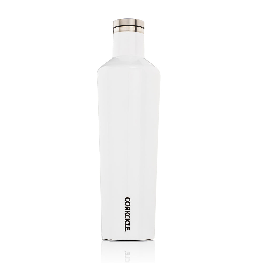 Corkcicle 750ml Canteen - Gloss White