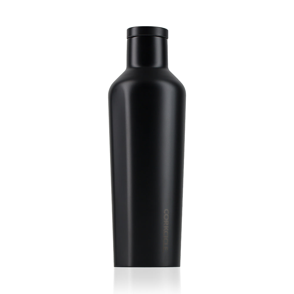 Corkicle 16oz Water Bottle - Modernist Black