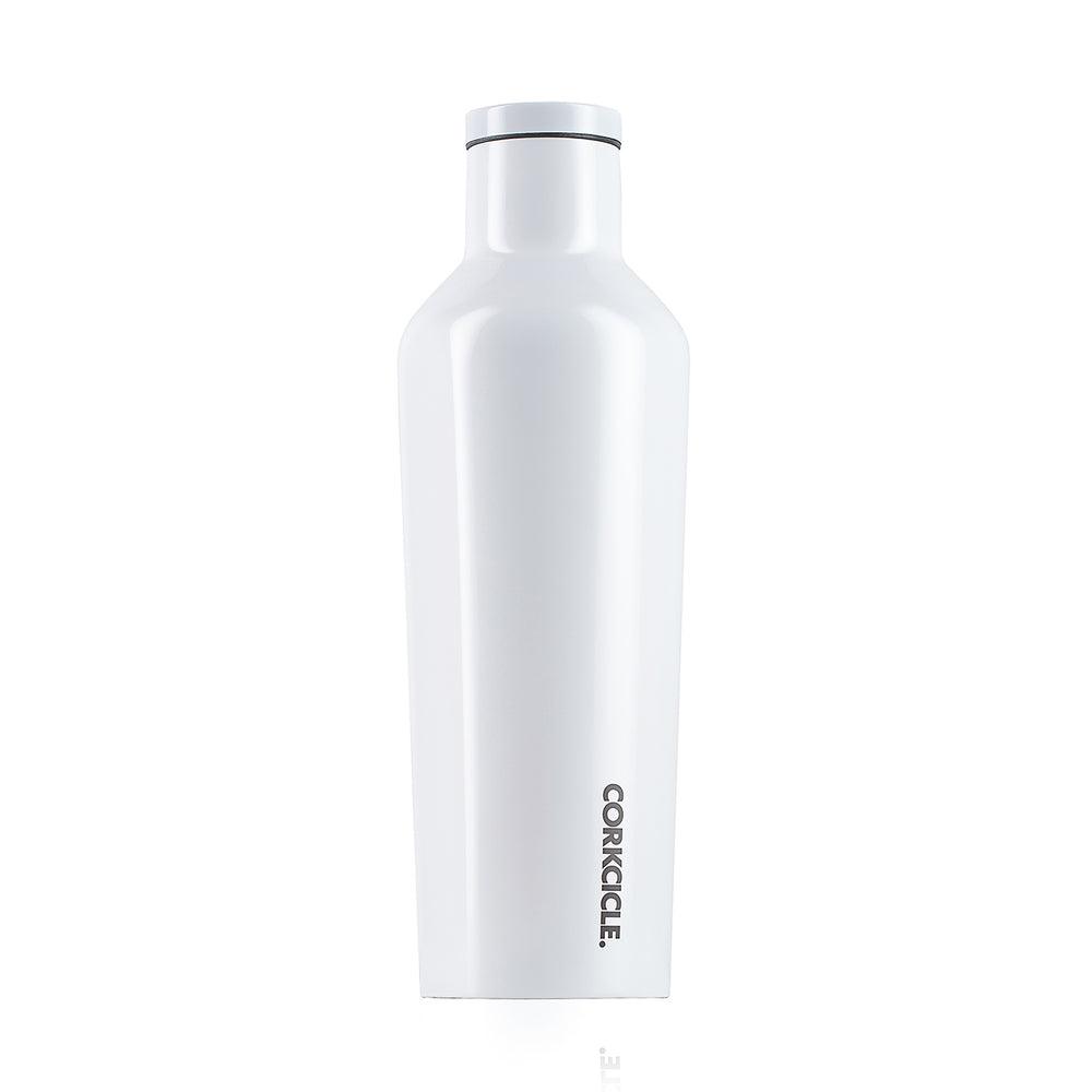 Corkicle 16oz Water Bottle -  Modernist White