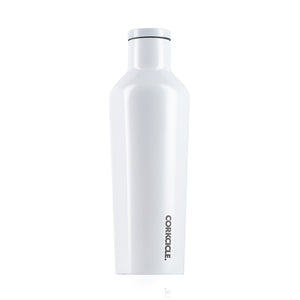 Corkcicle 16oz Water Bottle -  Modernist White