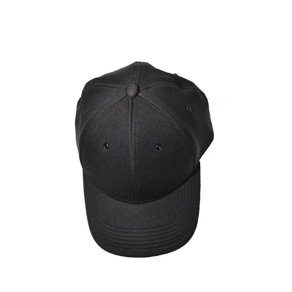 Black Neoprene Baseball Cap
