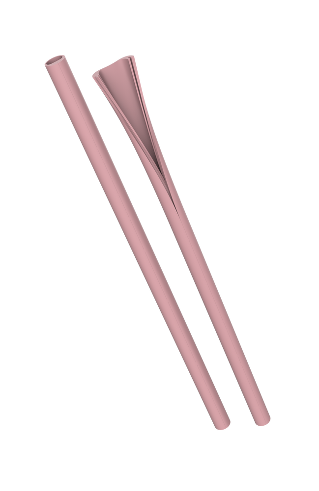 Hip Clean Straw - Lights - Stone, Dusty Pink, Sky