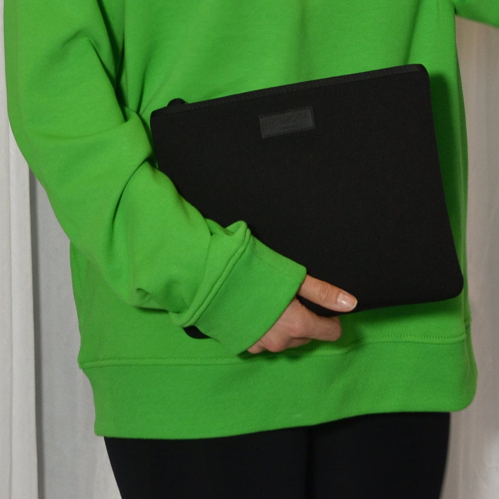 Load image into Gallery viewer, All Black Neoprene Pouch