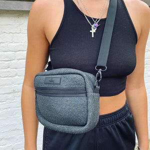 Marl Grey Cross Body Bag
