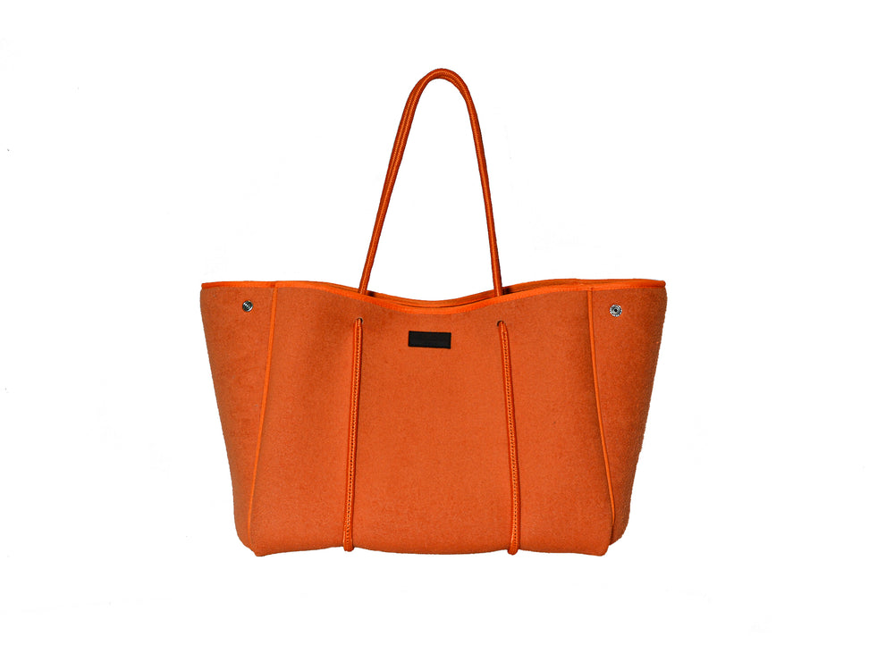 NEW !  Orange Towelling Finish All Rounder