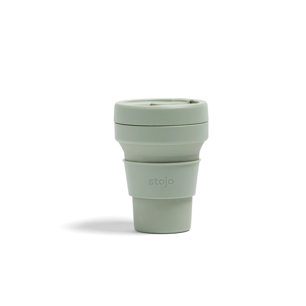 Stojo: The Collapsible, Reusable Cup - Sage