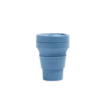 Stojo: The Collapsible, Reusable Cup - Steel Blue