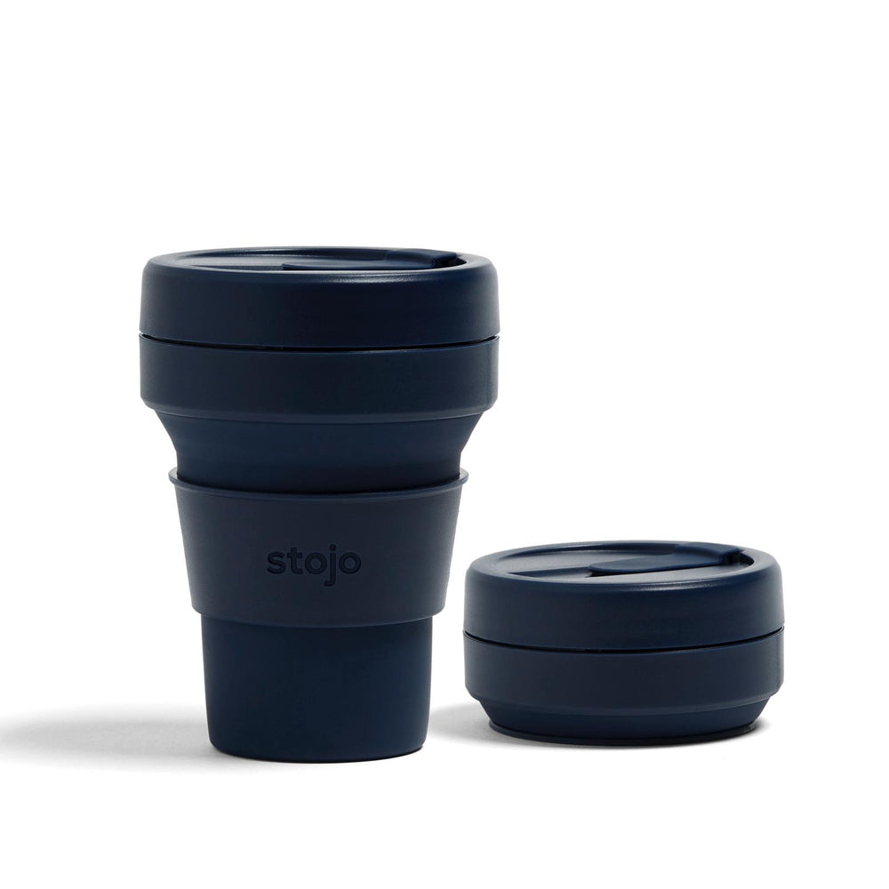 Stojo: The Collapsible, Reusable Cup - Denim