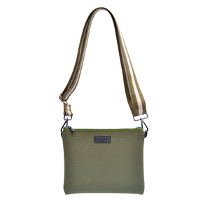 Khaki Messenger Bag