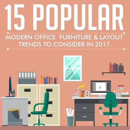 15 Modern Office Layout & Design Trends for 2017 by Jonathan Long