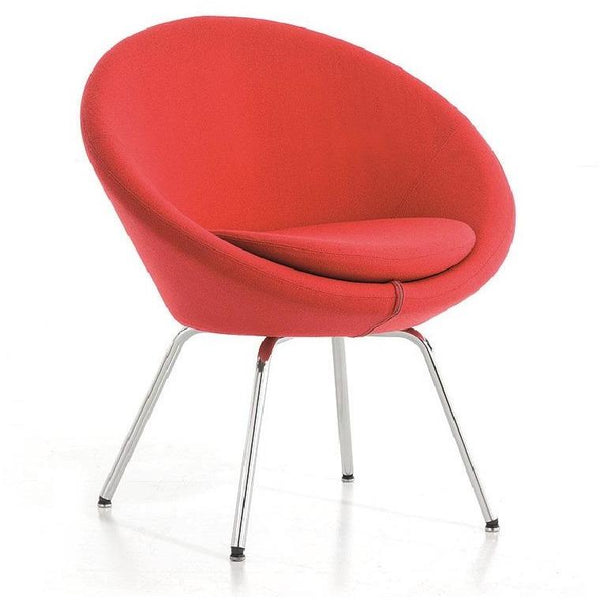 Conic Tub Chair with 4 Leg Base - TSI Workspace