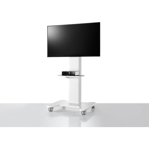 AV/VC Intro Single Screen Standard Configuration with Shelf - TSI Workspace