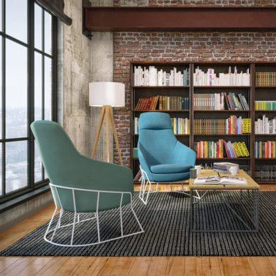 Drive Medium Back Armchair with Foundry Base - TSI Workspace