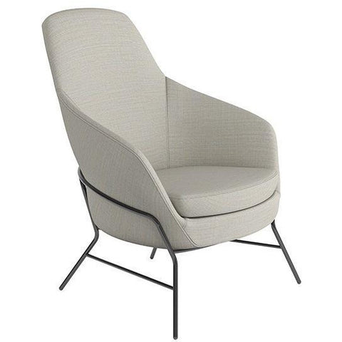 Drive Medium Back Armchair with 4 Leg Base - TSI Workspace