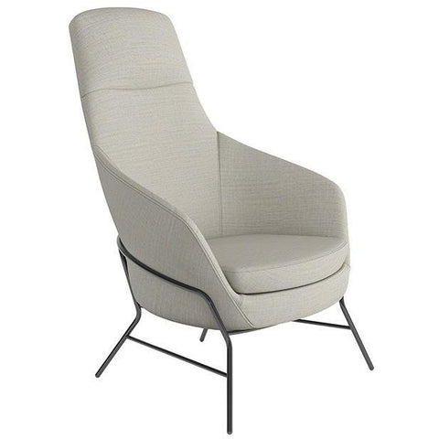 Drive High Back Armchair with 4 Leg Base - TSI Workspace
