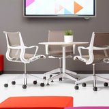 Herman Miller Setu Meeting Table - TSI Workspace