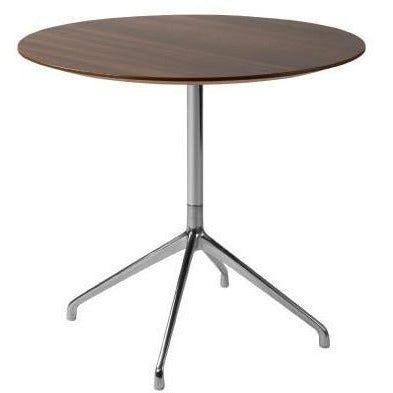Era Round Table 600 Diameter Chrome Frame - TSI Workspace