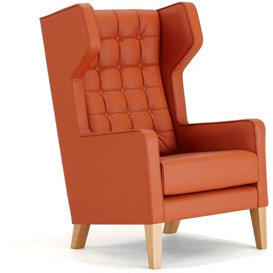 Grainger Wingback Lounge Chair - TSI Workspace