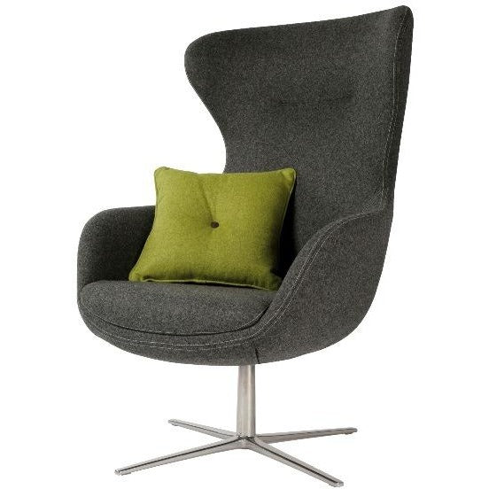 ILK Lounge Chair with 4-Star Swivel Base - TSI Workspace