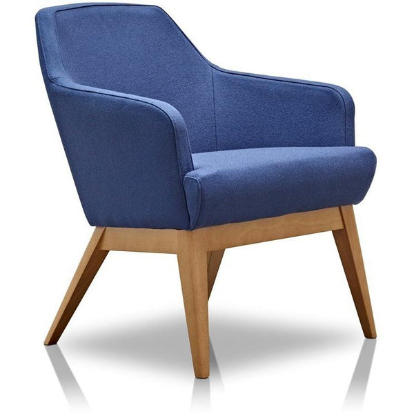 Herman Miller Jetty Compact Armchair with Light Walnut Base - TSI Workspace
