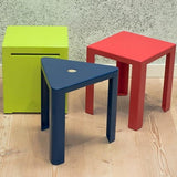 Jennifer Newman Cube Stool - TSI Workspace