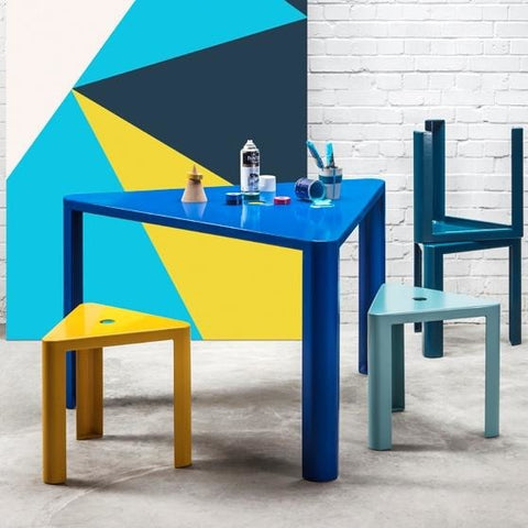 Jennifer Newman Triangle Tables and Stools - TSI Workspace