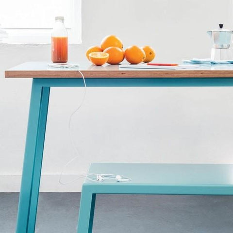 Jennifer Newman Tuck Table and Bench - TSI Workspace