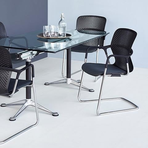 Keyn Cantilever Meeting Chair - TSI Workspace