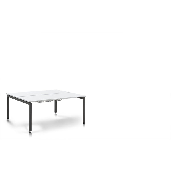 Herman Miller Sense 2 Person Back to Back Bench Desks (1400 x 800) - TSI Workspace