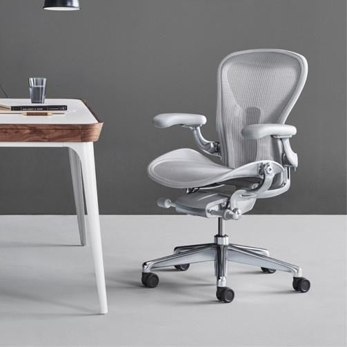 Aeron Chair in Mineral with PostureFit SL - TSI Workspace