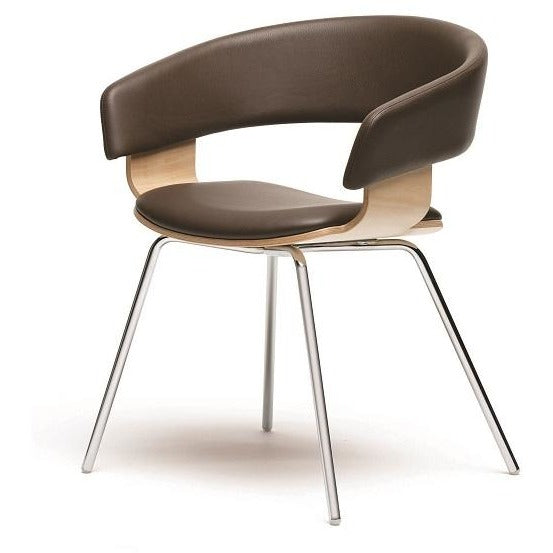 Mollie Chair with 4 Steel Legs - TSI Workspace
