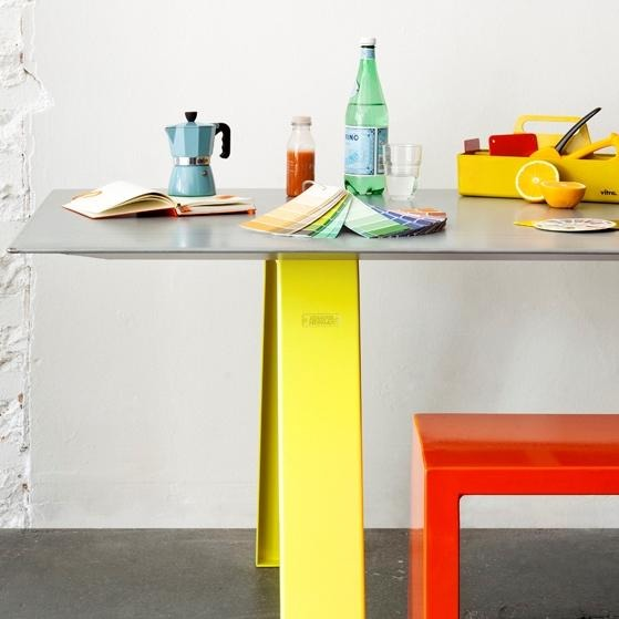 Jennifer Newman Trestle-S Table - TSI Workspace
