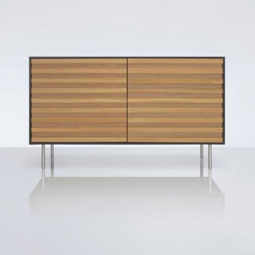 Stripey 2 Door Credenza - TSI Workspace