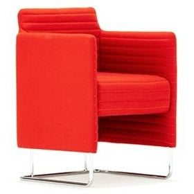 Tommo Club Chair with Quilted Upholstery - TSI Workspace