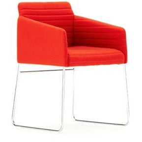 Tommo Dining Chair with Quilted Upholstery - TSI Workspace