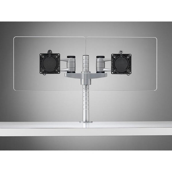 Colebrook Bosson Saunders Wishbone Dual Mount Bracket Monitor Arm - TSI Workspace