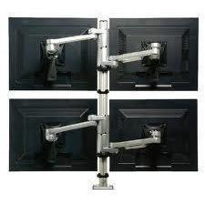 Daisyone - Quadruple Monitor Arm - TSI Workspace