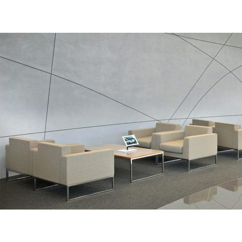 Layla Rectangular Coffee Table - TSI Workspace