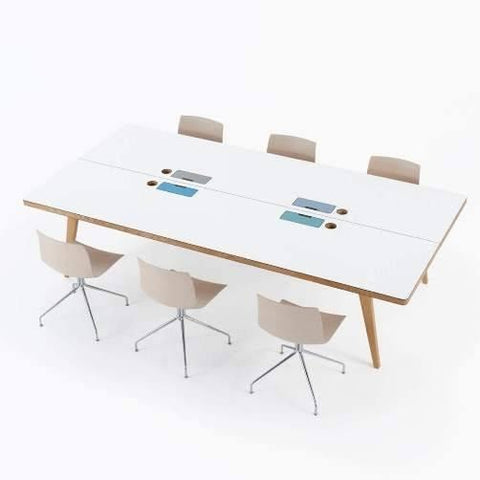 Osprey 6 Person Bench Desk - TSI Workspace