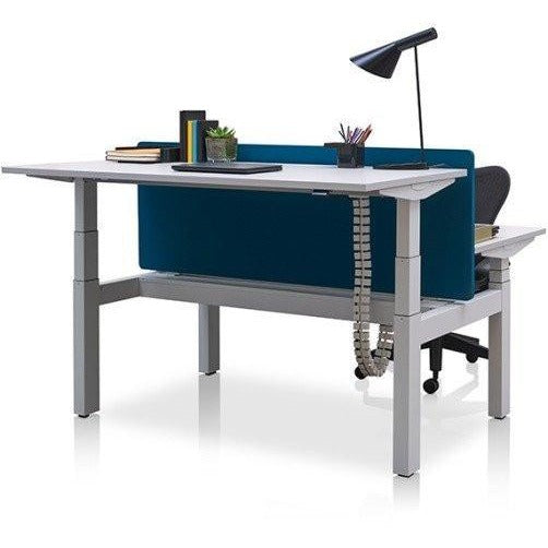 Back to Back Ratio Sit/Stand Desk - TSI Workspace