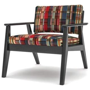 Scandi Chair with a Black Oak Frame - TSI Workspace