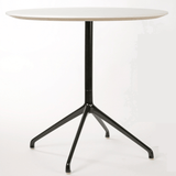 Era Round Table 900 Diameter with Black Frame - TSI Workspace