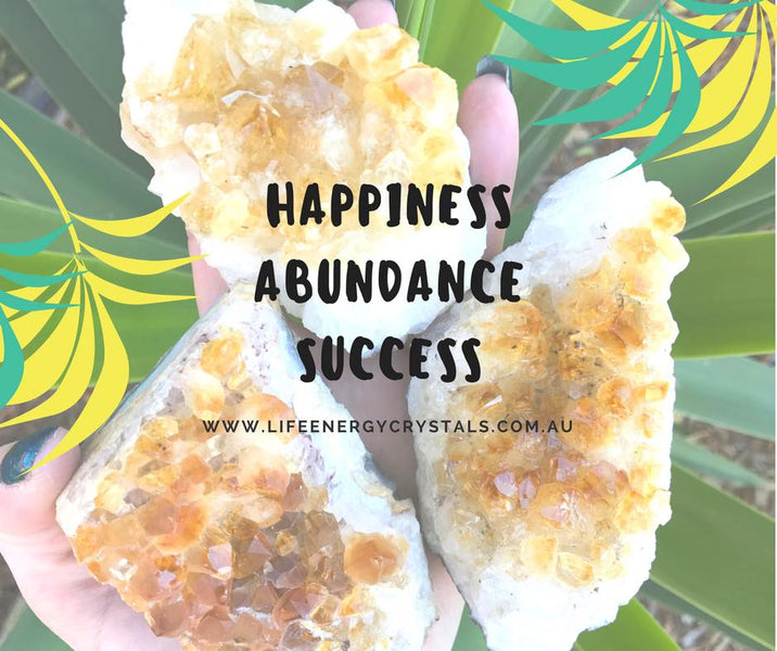 Citrine Affirmations