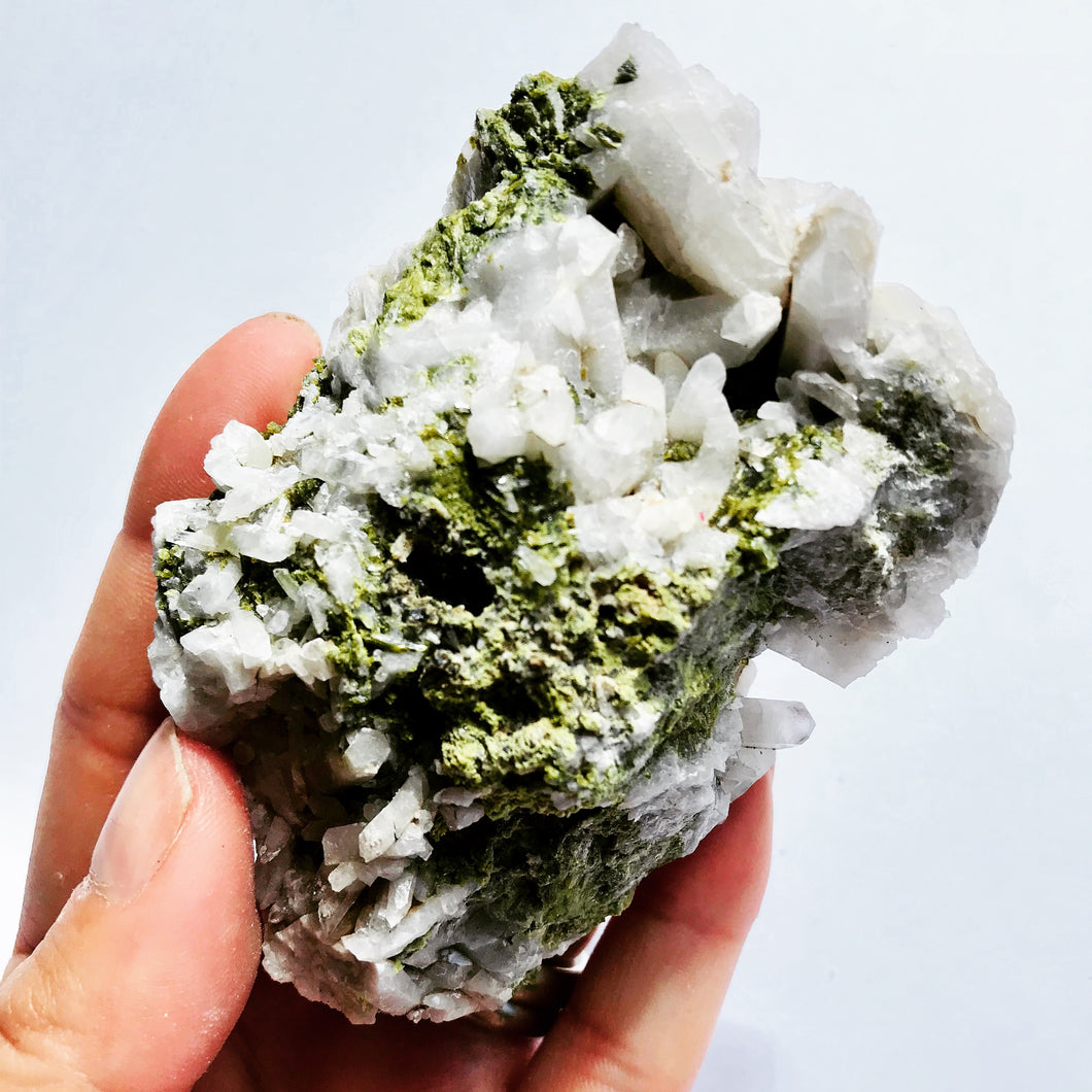 Epidote Quartz Specimen (Inyo Mountains, California)