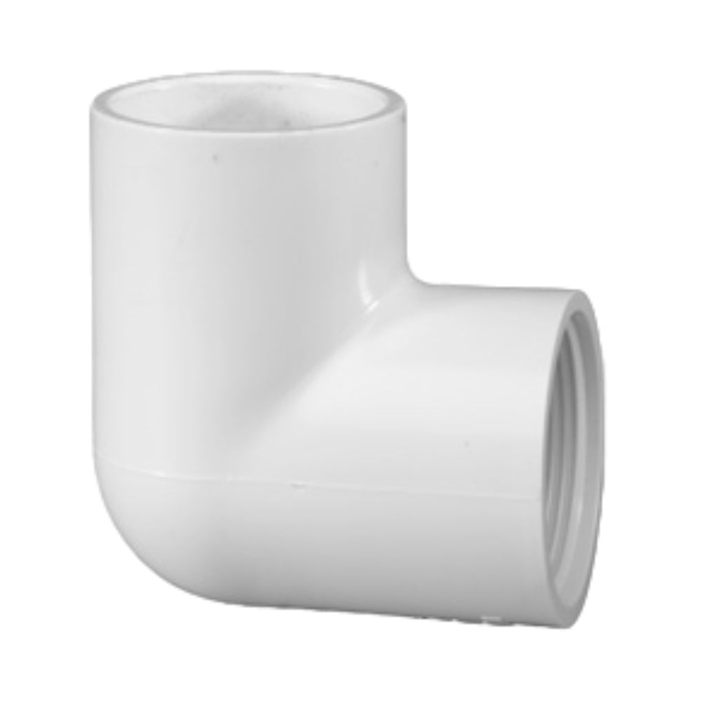 PVC Threaded Combo Elbow (FIPTxS)