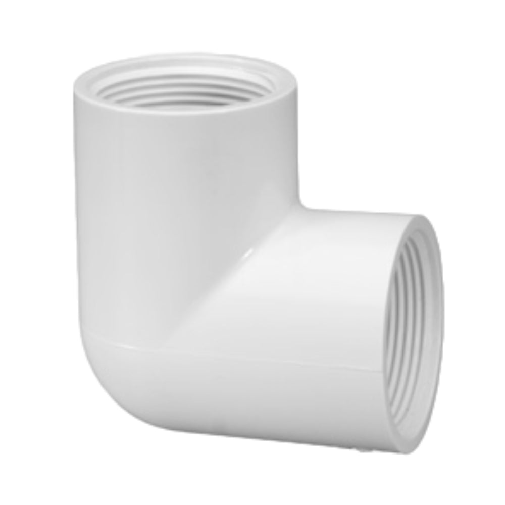 PVC Threaded Female Elbow (FIPTxFIPT)