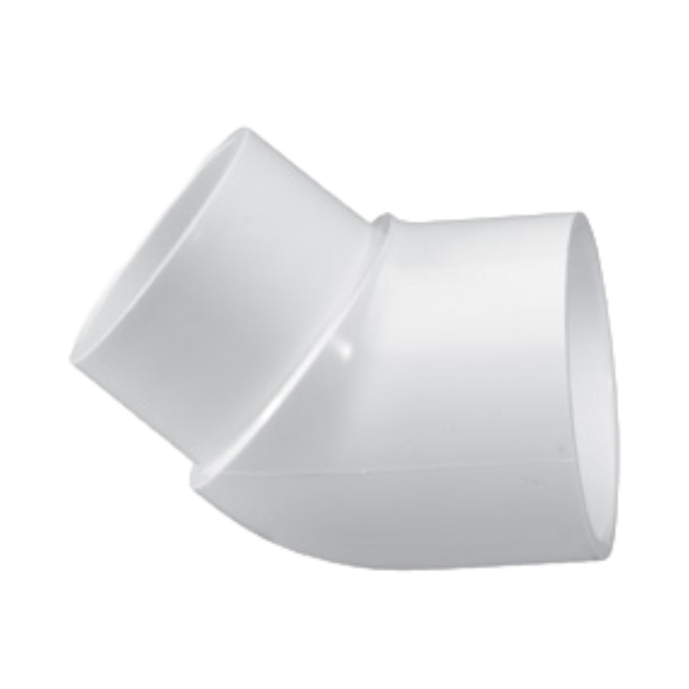 PVC 45 Street Elbow (Sp x S)
