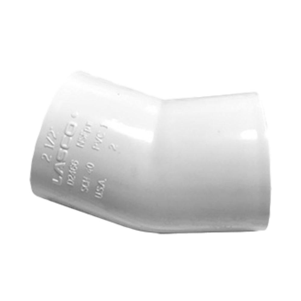 Poly Pipe 22.5 Degree Elbow (SxS)