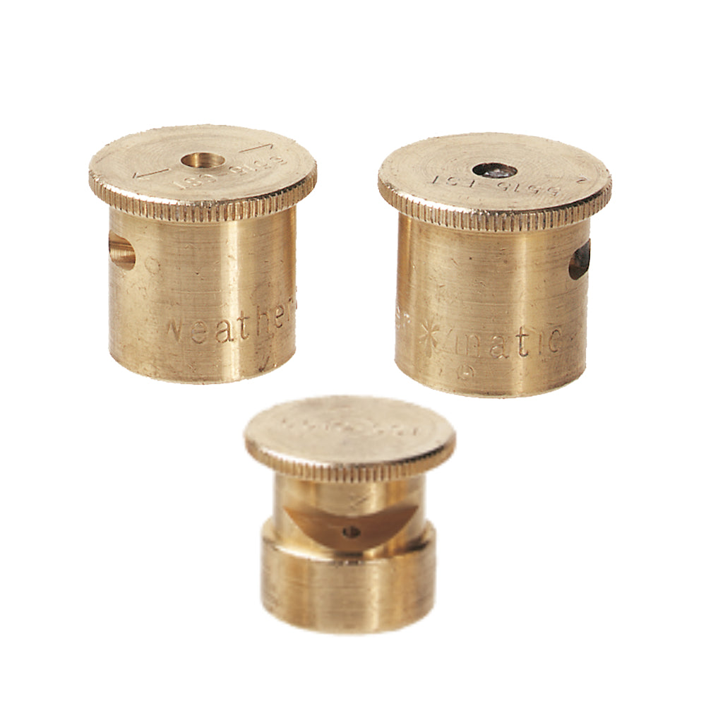 Weathermatic Brass Strip Nozzles