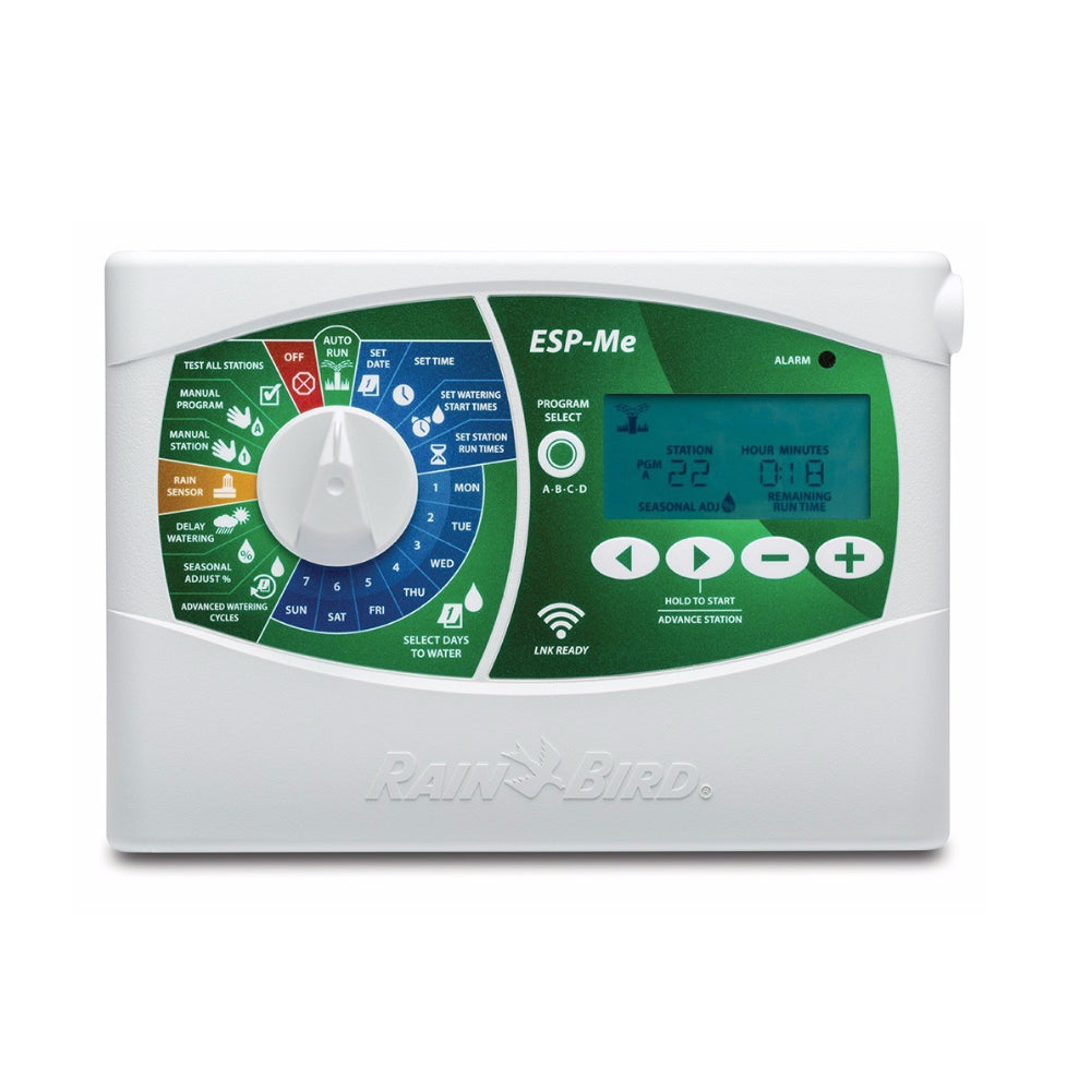 Renewed Rain Bird 1ZEHTMR Professional Grade Electronic Digital Hose End Timer//Controller One Zone//Station Battery Operated